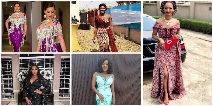 Dont Miss them!! Let's Catch Up On The Stunning Aso Ebi Styles Slayed Over The Weekend (Photos)