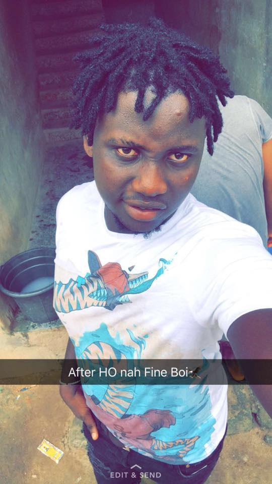 tom 1 - Yahoo Boy, Tomiwa Caught Stealing in Egbeda this Morning (Video)