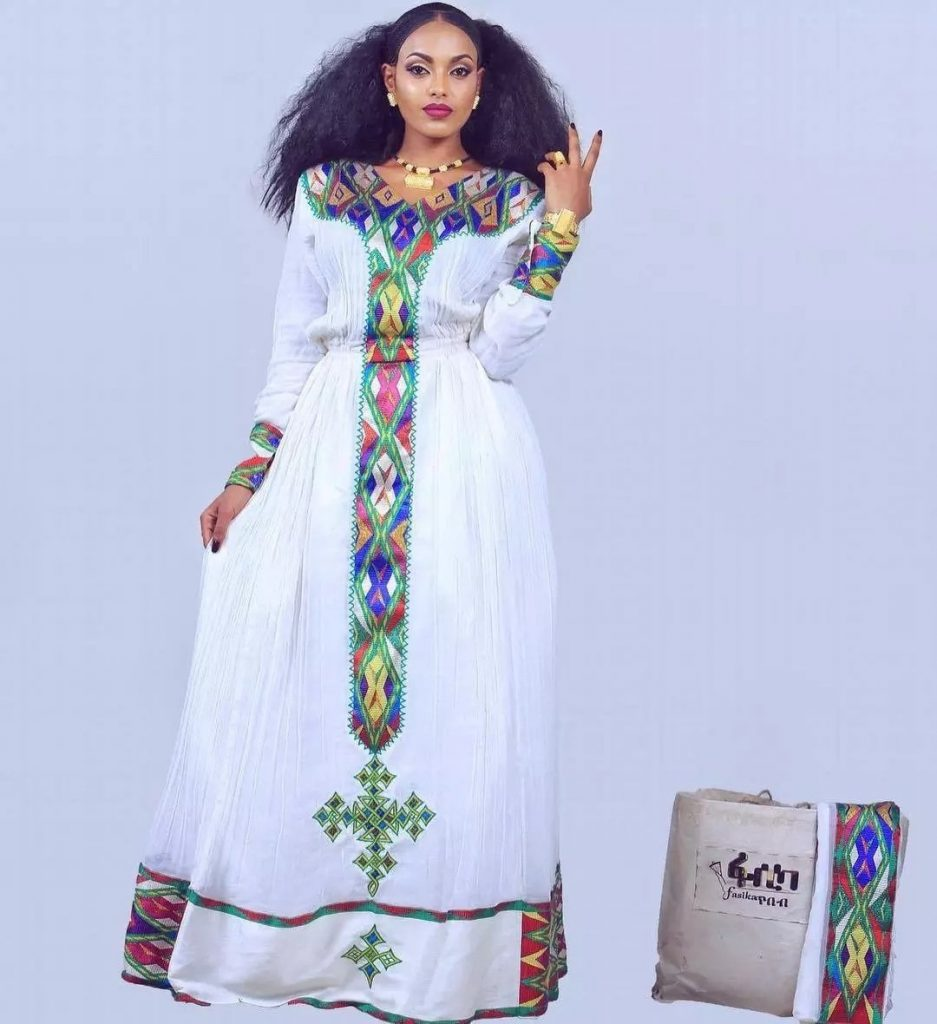 10 stunning traditional wedding dress styles in africa for Ethiopian decorating style