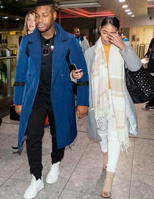 Nigerian-British Actor, John Boyega, Steps Out With His New Girlfriend (Photos)