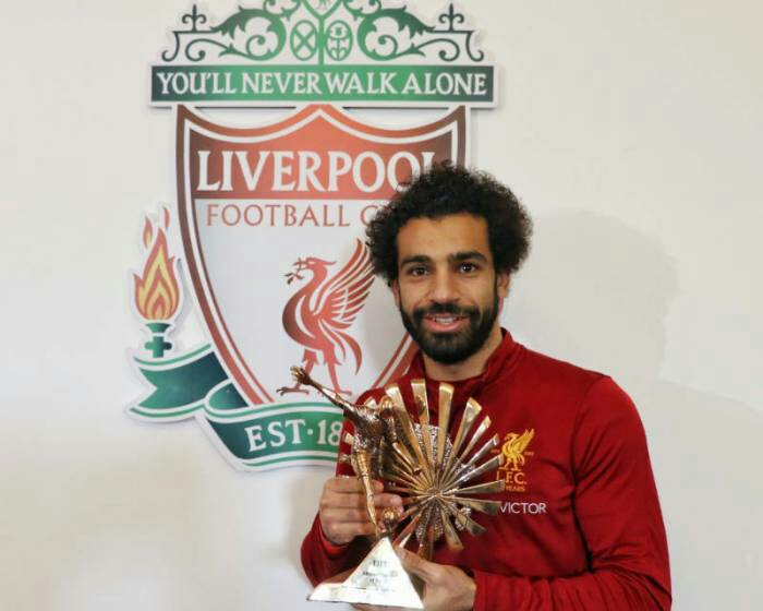 Mohamed Salah Beats Victor Moses To BBC Award
