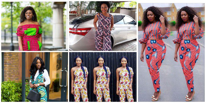 Ladies, Revamp your Closet with these 15 Unique, colorful and Chic Ankara Jumpsuits (Photos)