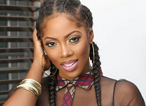 Tiwa Savage's Controversial Photo in Bed With a Man Sends Internet Into Frenzy