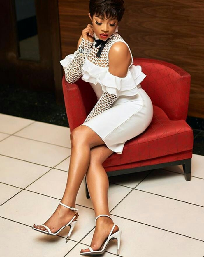 Toke Makinwa Is All Shades Of Stunning With Her New Look