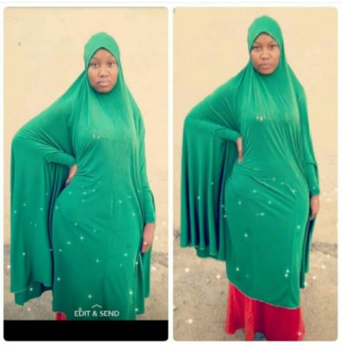See The Curves On A Beautiful Muslim Hausa Lady That Got People Talking