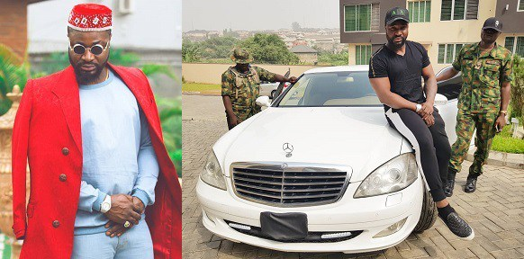 Harrysong Acquires Bulletproof Car Worth N95 Million (Photos)