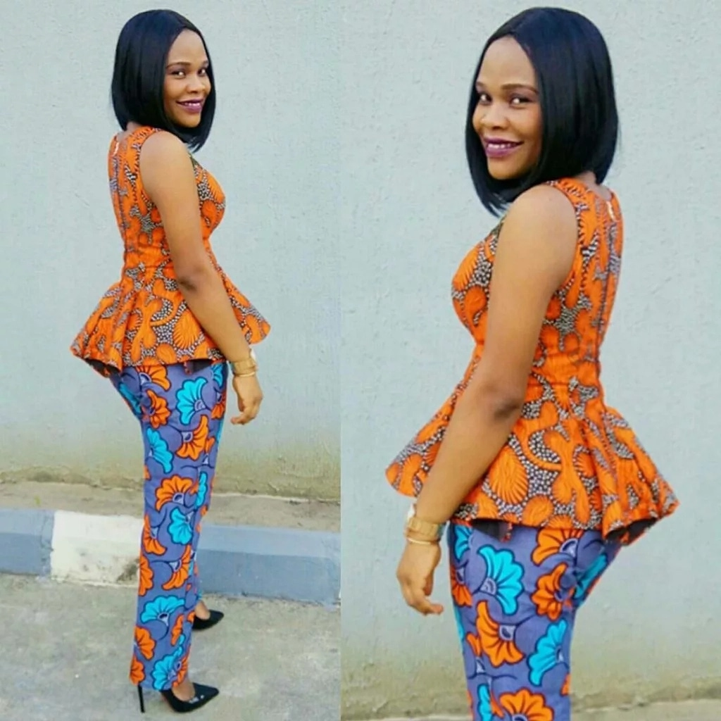 Latest Ankara styles 2018: Rock these beautiful and bright ... Pictures Of African Skirts And Blouses