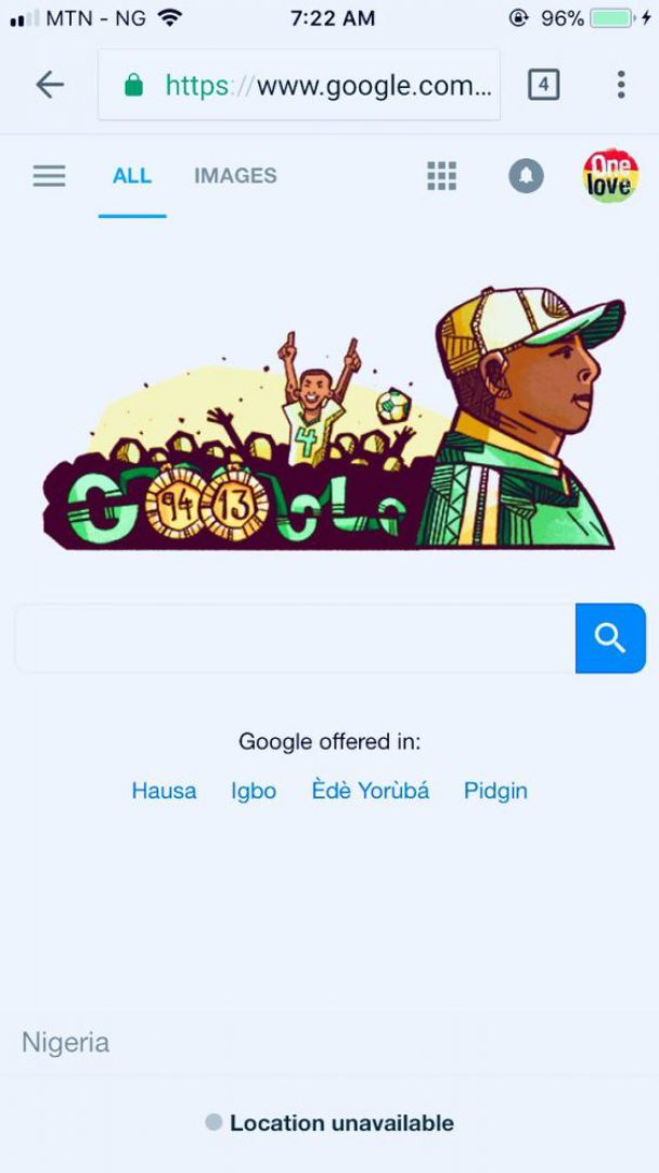 Google Celebrates Late Stephen Keshi Who Would have Been 56 Today (Photos)