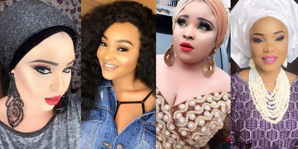 Four Yoruba Actresses Who Are Experts In Skin Toning And Brightening Business! (Photos)