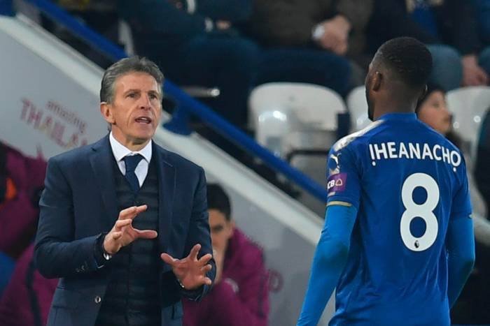 Leicester City Boss Claude Puel Rules Out Kelechi Iheanacho's Exit