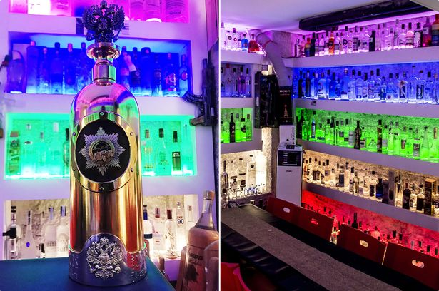 'World's Most Expensive' Bottle Of Vodka Gets 'Stolen' From A Bar. (Photos)