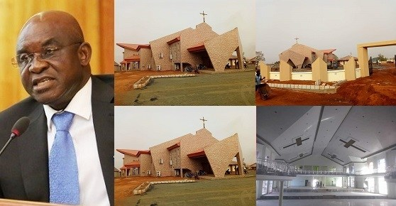 Photos Of Multi Million Naira Catholic Church Built By Senator David Mark