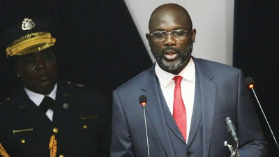 George Weah Vows To Change Liberia's Citizenship Laws