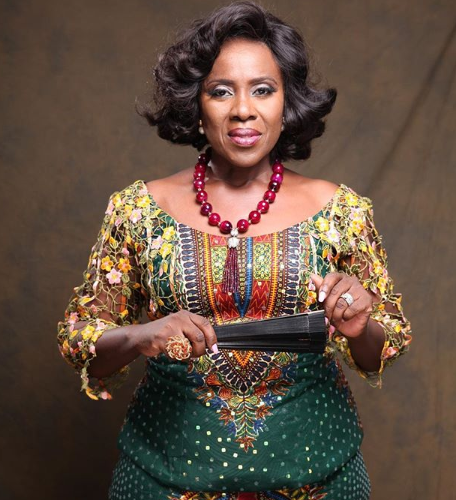 'Don't Just Dream About Success, Work For It'- Joke Silva Says As She Shares Lovely New Picture