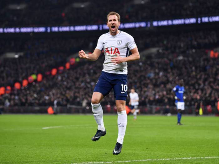Harry Kane Breaks Another Record As Spurs Thrash Everton