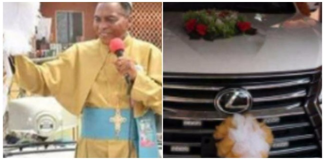 Check out the 2018 Lexus SUV a church in Warri Just Bought for Their Bishop (Photos)
