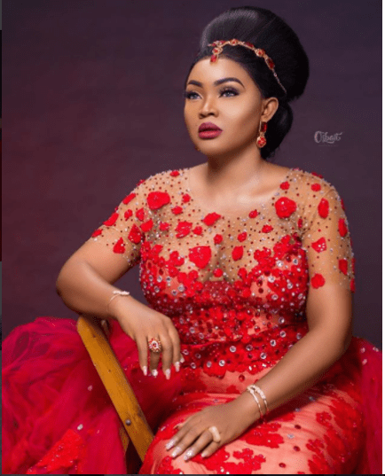 Mercy Aigbe Finally Speaks Up About Her Red Dress