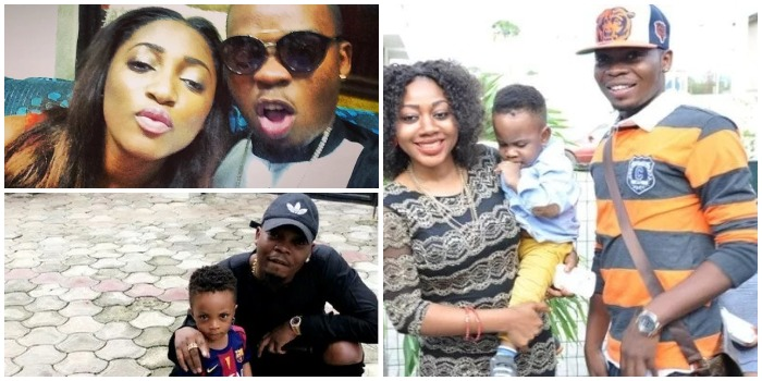 Olamide and His Beloved Family – His Wife, Son and Some