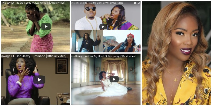 7 Times Tiwa Savage's Collaborations Were A Hit Back To Back (WATCH VIDEO)