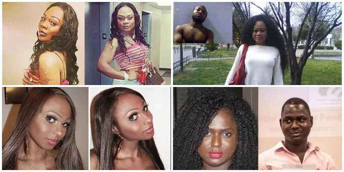 Jaw-Dropping photos of four Nigerian Men who transformed into Women after Surgery – See Before & After Photos