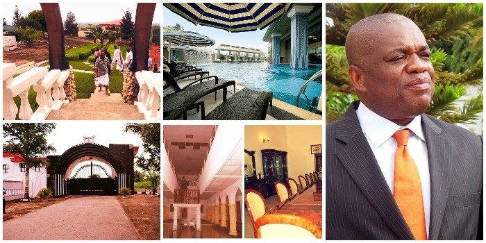 Did You Know Orji Uzor Kalu's House has 400 Rooms? Top Facts About this Mansion (Photos/Video)