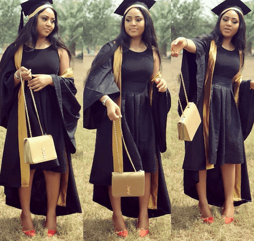 Image result for regina daniels graduation
