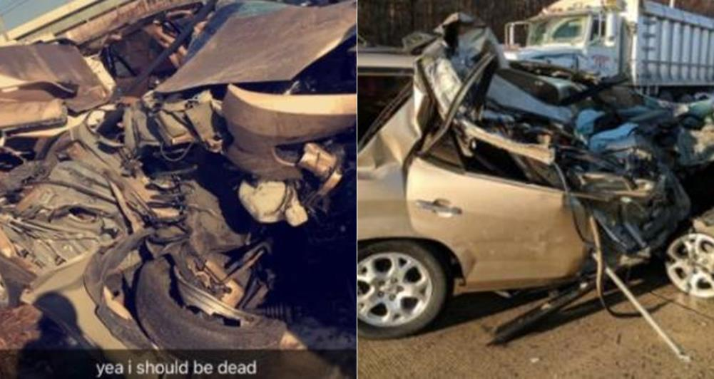 """I Should Be Dead But God Saved Me"" – Man Shares Testimony After Surviving Auto-crash"