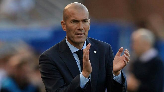 La Liga! Real Madrid Manager Zidane Speaks On Being Sacked Amid Poor Form In The Title Race