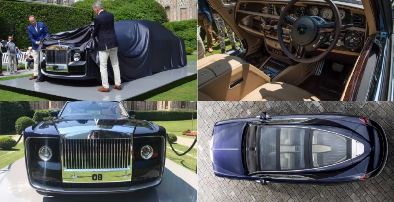 rolls royce sweptail world most expensive car photos and price. Black Bedroom Furniture Sets. Home Design Ideas