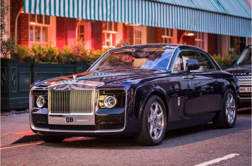 Rolls-Royce SwepTail  World Most Expensive Car.