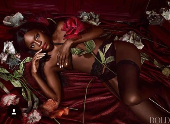 Ex BBA Contestant, Beverly Osu Wows In Underwear Photoshoot