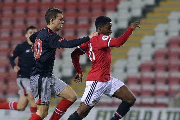 19-Year-Old Manchester United Starlet Wants To Play For Super Eagles (Photos)