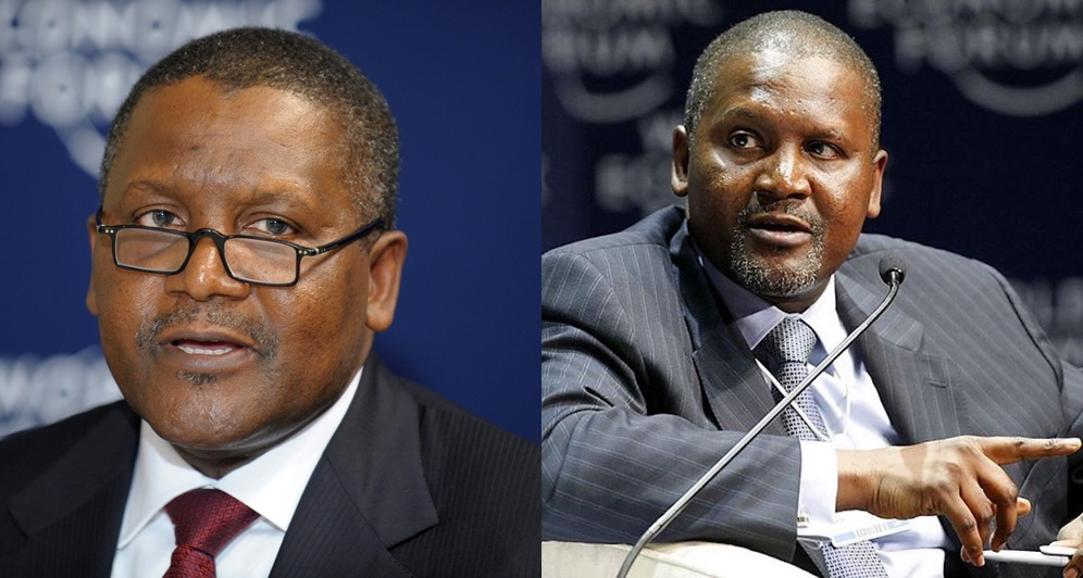 Forbes Magazine Names Dangote The Richest Black Man In The World (See Full List)