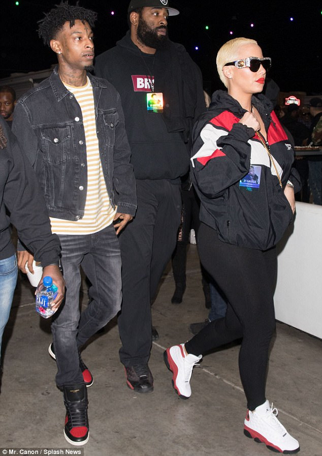 Amber Rose Ends Her Relationship With 21 Savage, Weeks After Wiz Khalifa Dumped Girlfriend