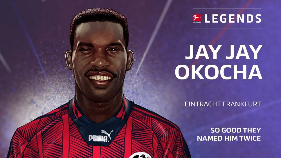 Jay-Jay Okocha Inducted Into Germany's Bundesliga Legends Network
