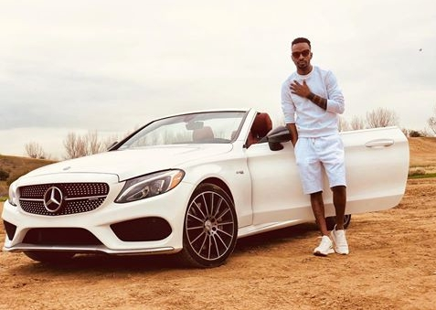 9ice Shows Off His White Benz In Adorable Photo