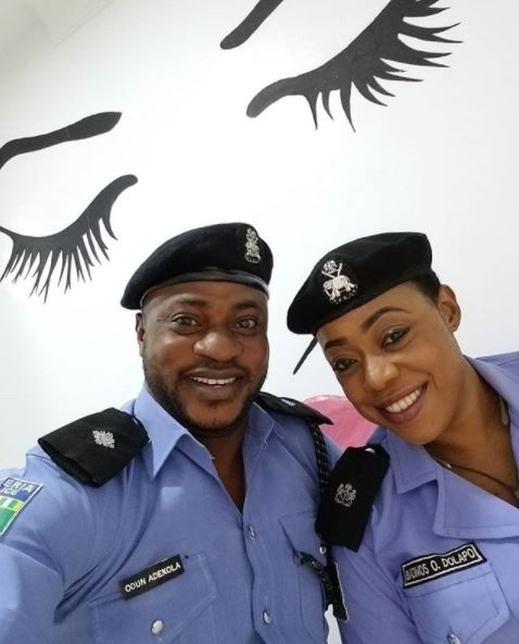 Yoruba Actor, Odunlade Adekola 'Joins' The Nigeria Police Force… See Him In Uniform (Photo)