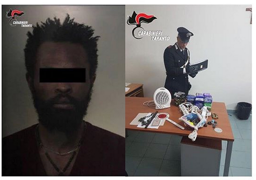 Nigerian Man Arrested For Beating Hotel Owner In Italy (Photos)