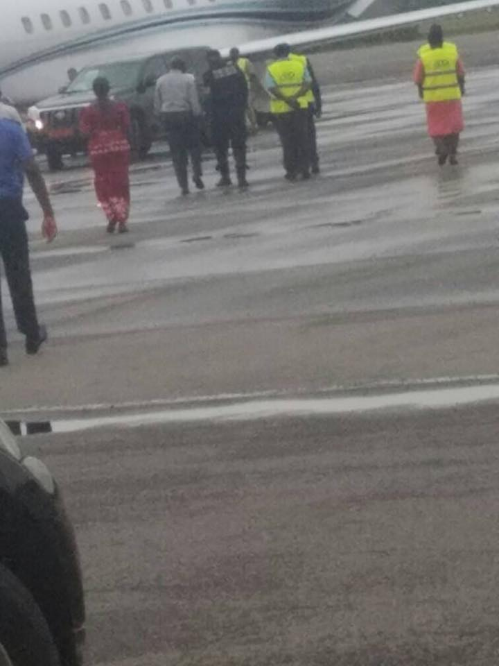 Sacked Cameroon Minister Arrested In Nigeria After Being Barred From Traveling (Photos)