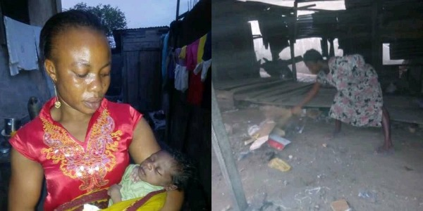 Mentally Challenged Woman Wanders Away After Giving Birth To Baby Boy (Photos)