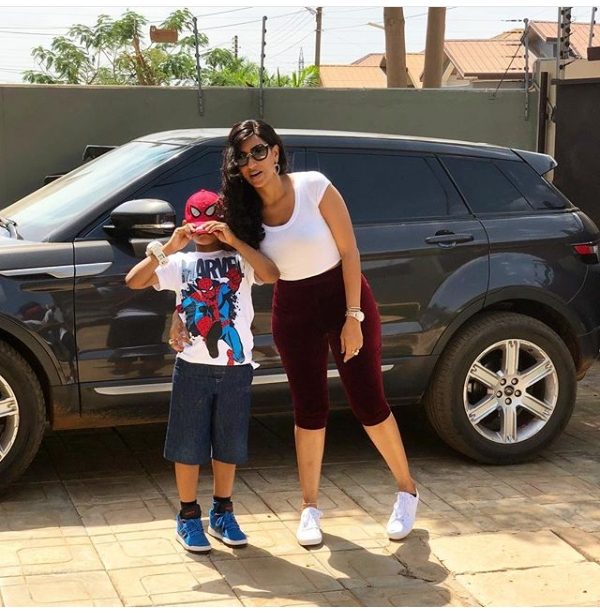 Juliet Ibrahim & Her Cute Son Look So Adorable Together - See Photos