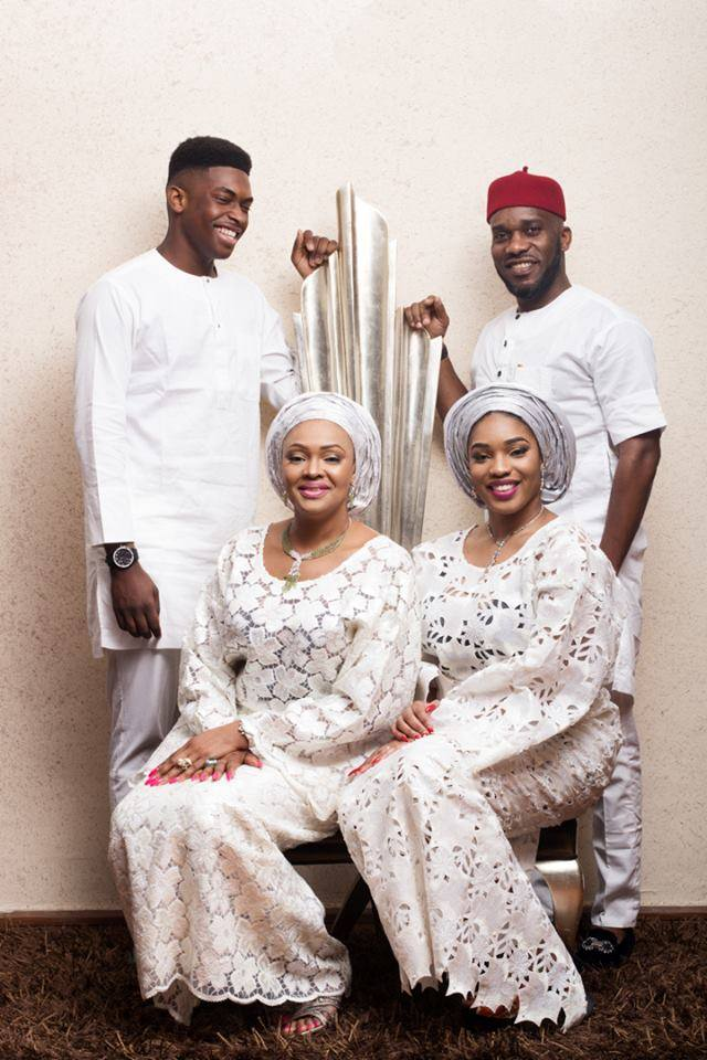 Beautiful Pictures Of Jay Jay Okocha His Wife And Kids An All