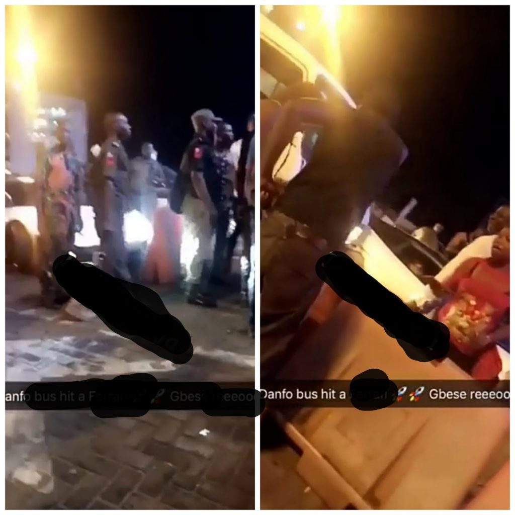 Danfo Bus Bashes A Ferrari At Lekki Tollgate Then This Happened (Video)