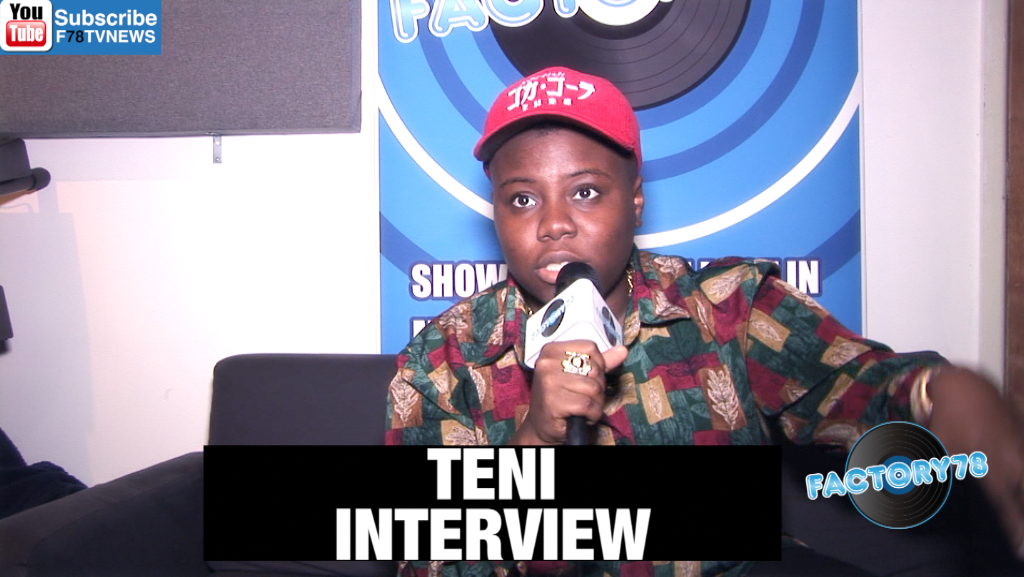 "Teni Speak On Writing A Book Called ""Music And School"" To Help Young People/Freestyle"