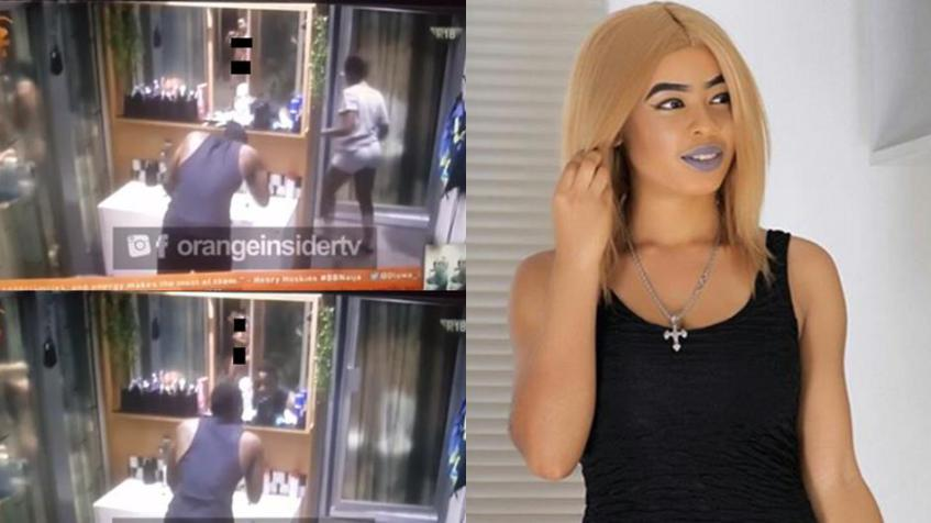 #BBNaija 2018: Watch Nina's Shower Hour as She Goes Naked (Video)