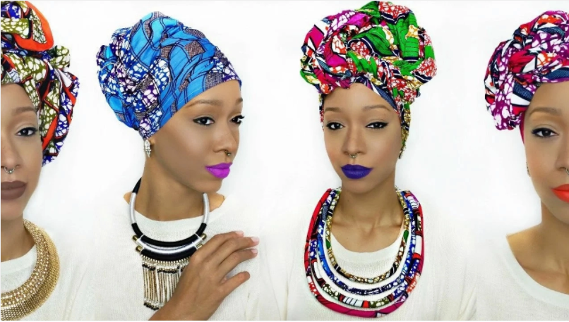 7 Beautiful Ways to Tie Ankara Head Tie (Photos)