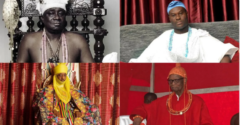 Top 10 Powerful and Richest kings in Nigeria (Photos)