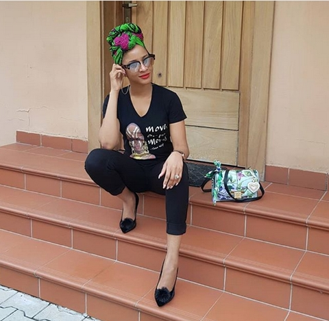 New Cute Photos Of Actress Adesua Etomi Is Giving Her Fans Positive Vibes