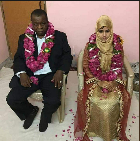 Nigerian Man Gets Married To A 15-Year-Old Girl In India (Photos)