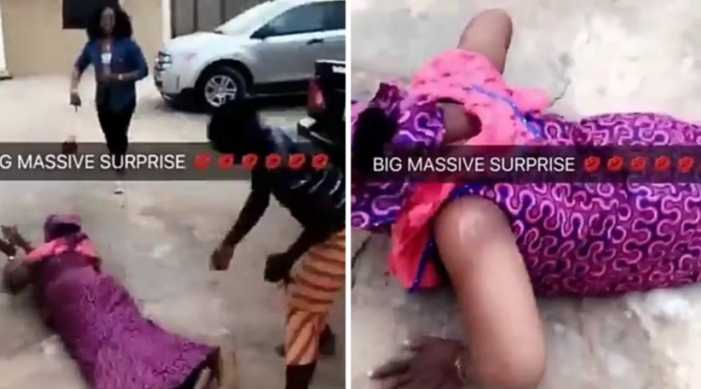 Emotional Moment Nigerian Mother Sees Her Only Child After Several Years (Video)